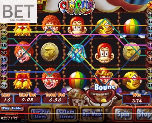 Circus2 slot game free spin SCR888 │ibet6888.com