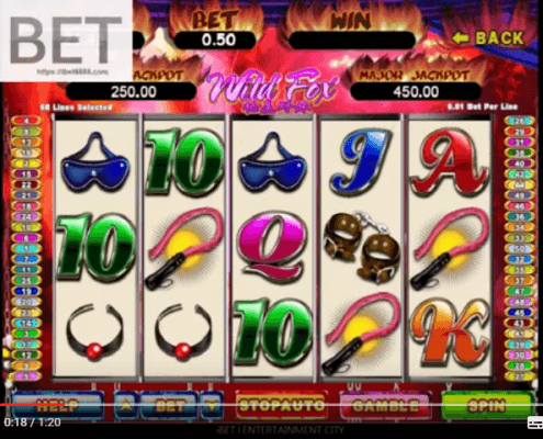WildFox slot games online easy win SCR888 │ibet6888.com
