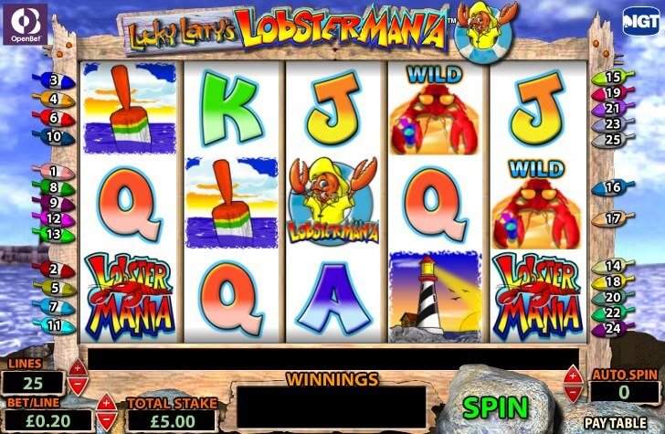 Free Download Lobstermania SCR888 Slot Game Casino