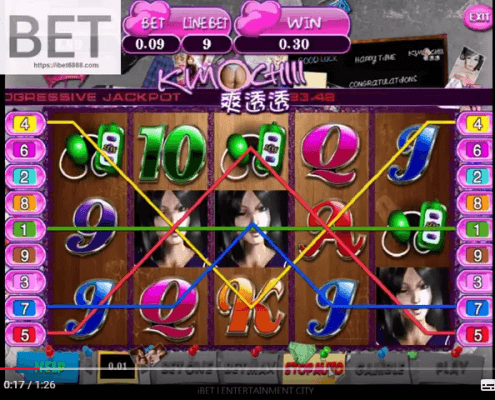 SCR888's (918Kiss) Golden Slut Slot game