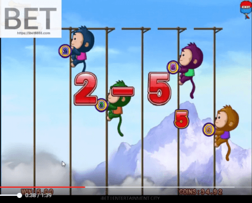 Monkey Thunderbolt slot games free spin 918Kiss(SCR888) │ibet6888.com